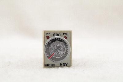 New Omron Time Timer Relay 8pin H3y-2 H3y Dc12v 5a 0.2-5.0seconds 5s