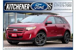 2013 Ford Edge SEL SEL/AWD/CAMERA/NAVI/PANO ROOF/SIRIUS/HTD S... Kitchener / Waterloo Kitchener Area image 1
