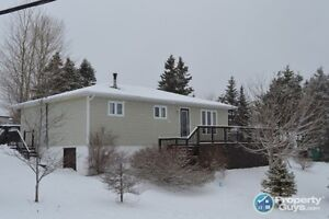 3 Bed home with spectacular view of Marystown Harbour.