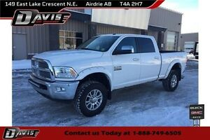 2014 RAM 3500 Laramie LARAMIE, HTD/CLD SEATS, POWER ASSIST STEPS
