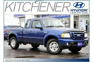 2011 Ford Ranger SPORT // MANUAL // AC // LOW KMS //
