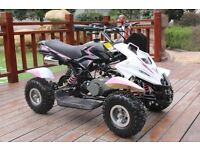 Hawkmoto 50cc Dirt Ninja Mini Off-Road Petrol Quad Bike -