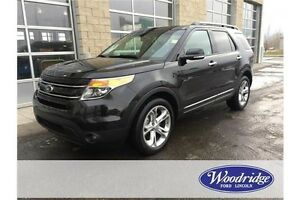 2015 Ford Explorer Limited REDUCED! Was $39,990. 3.5L V6, LOA...