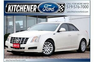 2013 Cadillac CTS Base AWD/LEATHER/PANOROOF/ALLOYS/LOADED!