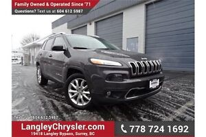 2015 Jeep Cherokee Limited LOCALLY DRIVEN, ONE OWNER & ACCIDE...