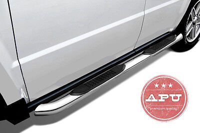 APU 14-19 Jeep Cherokee Stainless Side steps Running Boards Nerf Bars OPEN BOX