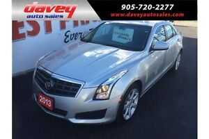 2013 Cadillac ATS 2.0L Turbo LEATHER, BACK UP CAMERA, BLUETOOTH