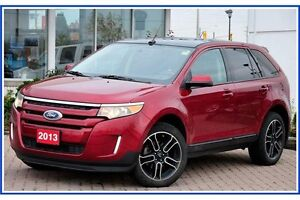 2013 Ford Edge SEL SEL/AWD/CAMERA/NAVI/PANO ROOF/SIRIUS/HTD S... Kitchener / Waterloo Kitchener Area image 2