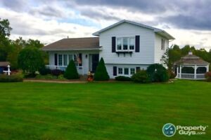 Country living close to amenities, 3 bdrm/2 bath on 2.84 ac