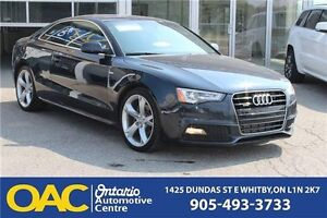 2013 Audi A5 S-LINE PKG | BT | NAV | SUNROOF | ALL WHEEL DRIVE