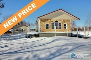NEW PRICE! Newly constructed cottage/home. WATERFRONT!
