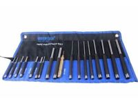 BERGEN 18PC PIN PUNCH SET With Automatic Center Punch