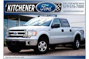 2014 Ford F-150 XLT/CREW/4X4/5.0L/1 OWNER/WARRANTY/