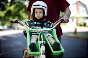 iBert Frog front mounted child seat / carrier for bike