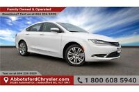 2015 Chrysler 200 Limited w/- Back Up Camera & Remote Start