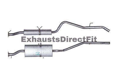 Exhaust Box with Tail Pipe For Ford GFE948 End Back Silencer FE948