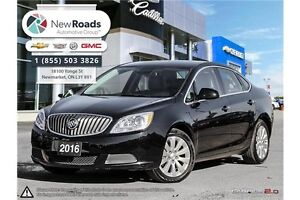 2016 Buick Verano Base LEATHER, BLUETOOTH, BACK/CAM