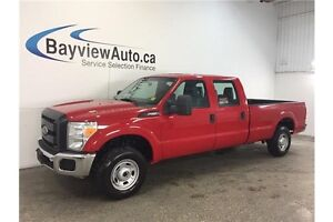 2015 Ford F250SD - 6.2L! 4x4! 8' BOX! CREW CAB! HITCH! A/C!
