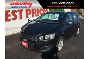 2015 Chevrolet Sonic LT Auto BACKUP CAMERA, 4G WIFI, BLUETOOTH