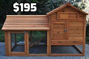 Chicken Coop with Side Run (or large Rabbit Hutch) Osborne Port Adelaide Area Preview