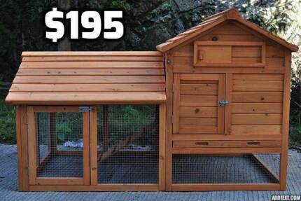 Chicken Coop with Side Run (or large Rabbit Hutch)