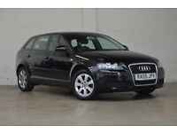 AUDI A3 1.6 FSI SPORTBACK 5DR***FULL SERVICE HISTORY***HPI CLEAR-LONG MOT***IMMACULATE CONDITION