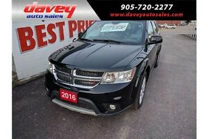 2016 Dodge Journey SXT/Limited SUNROOF, HEATED SEATS, BACK UP...