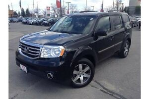 2015 HONDA PILOT TOURING - LEATHER - NAVIGATION - REARVIEW CAM
