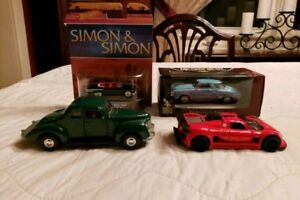 Four Miniature Cars