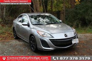 2011 Mazda 3 GX 1 Owner - Manual & Keyless Entry