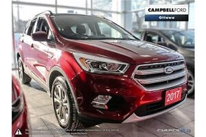 2017 Ford Escape SE all wheel drive with low kms
