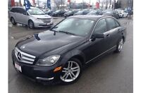 2012 MERCEDES BENZ C250 4MATIC - LEATHER
