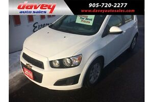 2016 Chevrolet Sonic HEATED SEATS, REMOTE STARTER, BACK UP CAM