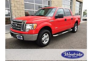 2012 Ford F-150 XLT 3.5L V6, NO ACCIDENTS, 4WD, 145WB