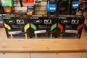 Assorted Brand New Peavey Wireless Systems PRICE REDUCED