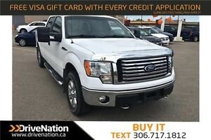 2010 Ford F-150 XLT 4X4 CREW CAB TRUCK! FINANCING AVAILABLE!