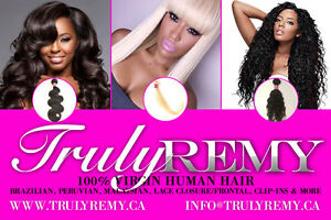100% BRAZILIAN REMY HAIR EXTENSION, CLIPS