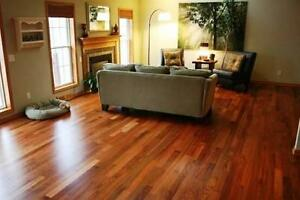 Amazing Deal!! PREFINISHED JATOBA FLOOR starting $3.49!