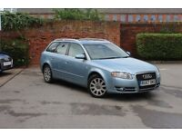 Audi A4 DIESEL AVANT 2.0 TDi TDV SE 5dr Multitronic, Leather, FSH, Sat Nav, PDC, sunroof, 1 Owner