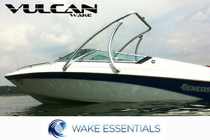 Vulcan Boost wakeboard tower - Polished -  2.25