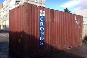20' Cargo Worthy Shipping Containers ON SALE- ARMIDALE $2150+GST Armidale Armidale City Preview