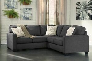 5-seat Sectional Sofa, as is