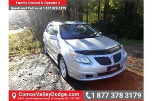 2007 Pontiac Vibe Base 1 Owner - Fuel Efficient & 5 Speed Manual