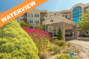 NEW PRICE! Stunning waterview, 2 bed, 2 bath Condo!!