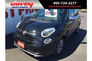 2015 Fiat 500L Lounge NAVIGATION, SUNROOF, LEATHER SEATS