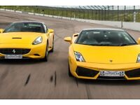Driving Experience: Double Supercar Driving Blast with High speed Passenger Ride