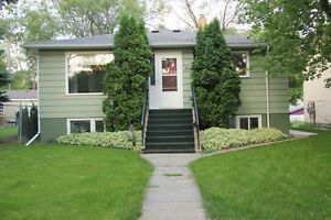 Raised bright 2-Bedroom basement suite for rent close to U of S