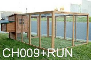 Giant 2.8M Chicken Coop with Nesting Box and Run Dandenong South Greater Dandenong Preview