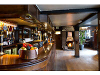 Experienced waiting & bar staff for historic London pub