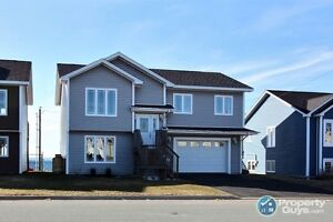 Panoramic views of Conception Bay. 4 bed/3 bath
